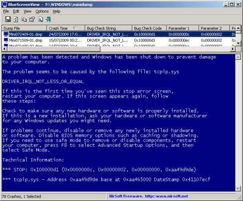 Saber el significado de la pantalla azul de la muerte Saber el significado de la pantalla azul de la muerte