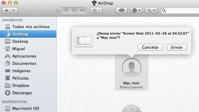 os x lion apple mac finder airdrop
