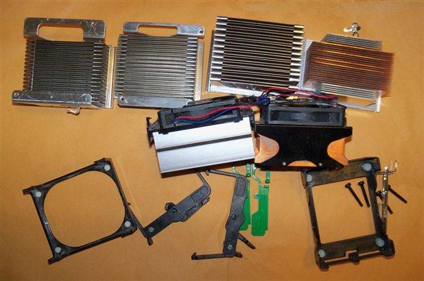Convertidores y clips ventiladores